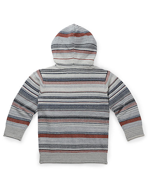 MULTI STRIPE HOOD, MULTI