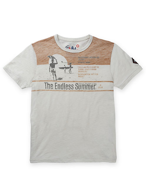 ENDLESS SUMMER TEE, WINTER WHITE