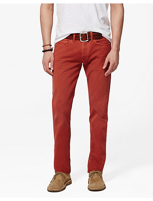 121 HERITAGE SLIM, BARN RED