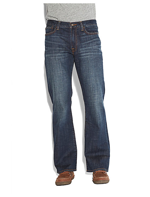 Mens colored bootcut jeans