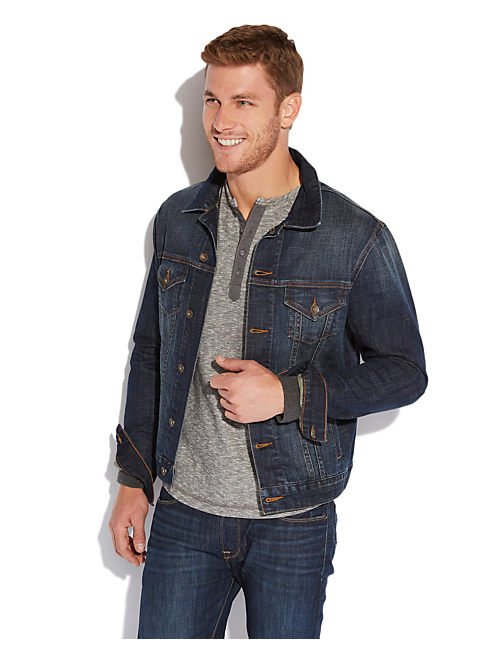 CLASSIC DENIM JACKET, RIDDLE