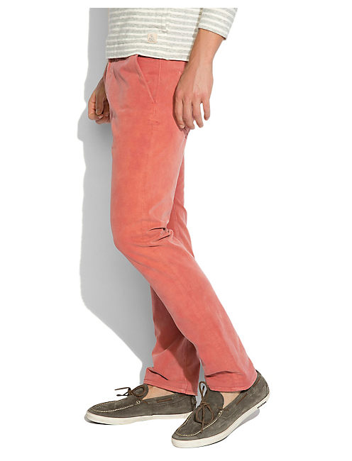 121 SUN FADED CHINO, SALSA