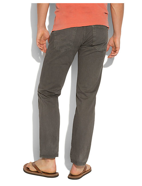 221 SUN FADED CHINO, GREY ASH