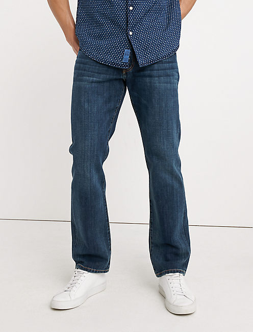 Peter Manning jeans are cut slim-straight, which will look great on most men, but I prefer a bit more taper through the leg. Also, keep in mind that the overall style of .