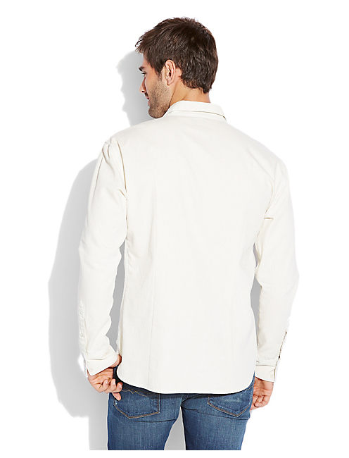 OXNARD DENIM 1 POCKET, #1623 BONE WHITE