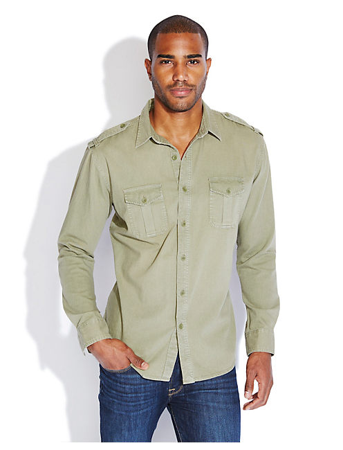 MILITARY DENIM 2 POCKET, VINTAGE OLIVE