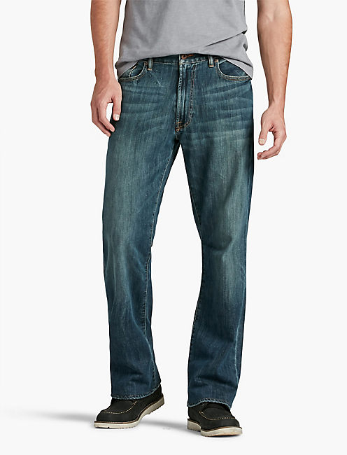 181 RELAXED STRAIGHT JEAN, MAHOGANY