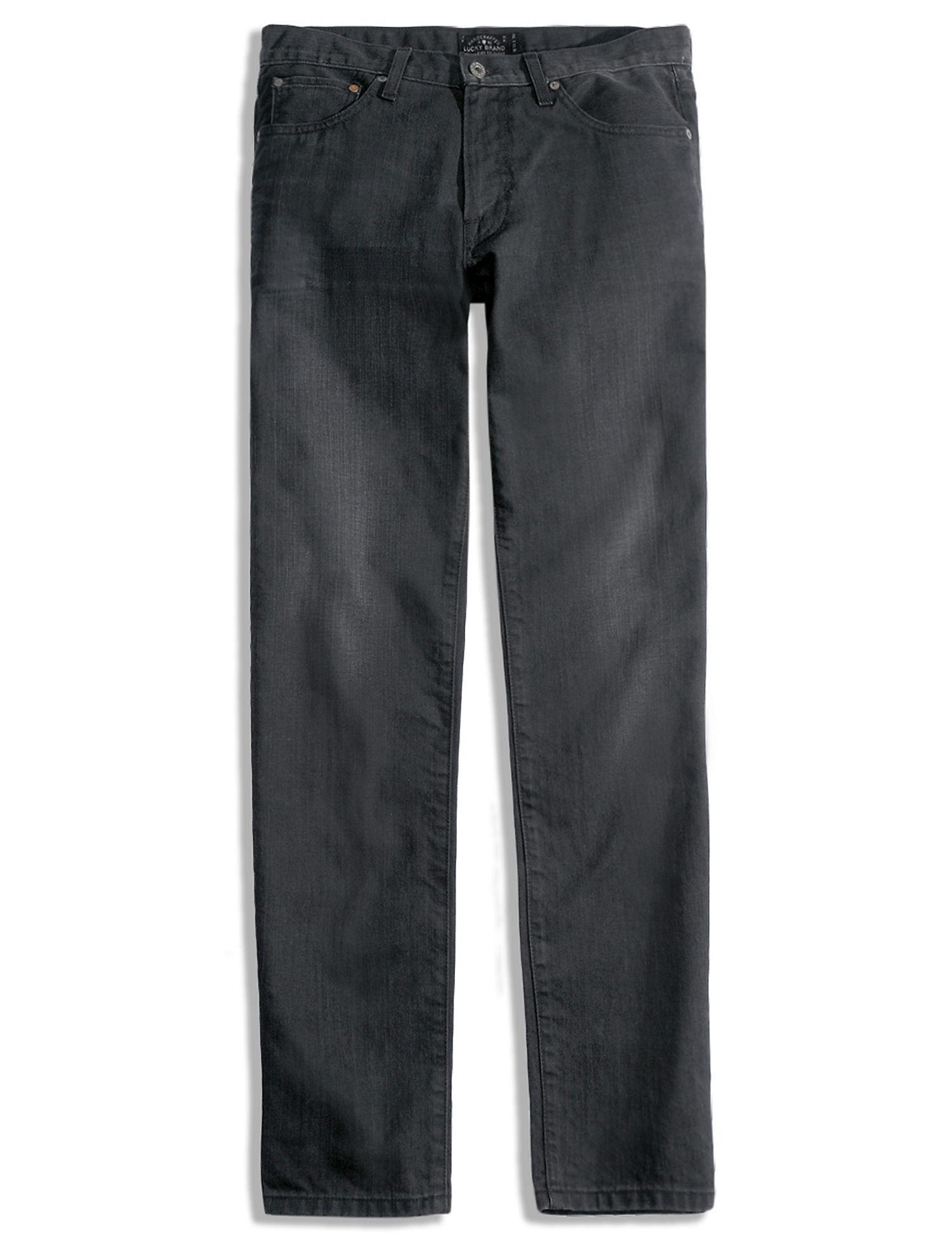 Black Straight Leg Jeans for Men on Sale | Lucky Brand