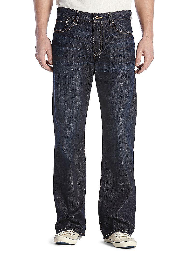 Lucky Brand 367 Vintage Boot Mens Bootcut Jeans $90.30 AT vintagedancer.com