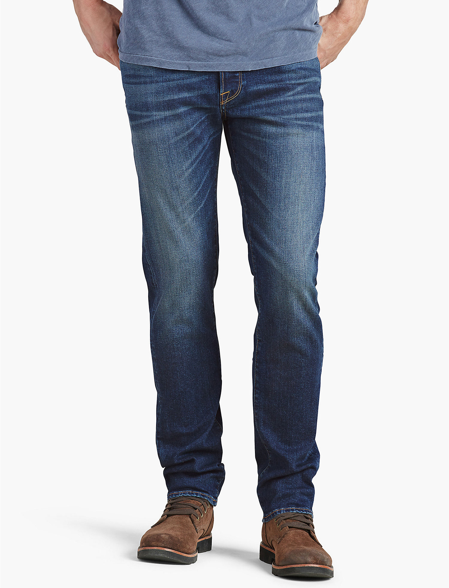 Mens jeans design legends jeans - Lucky 1 Authentic Skinny