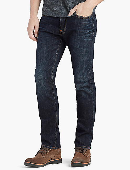 practical slim fit jeans for men Update your closet with the latest slim fit jeans for men. Pick out a vintage piece in black or blue, or add a touch of personality with original rips and details.
