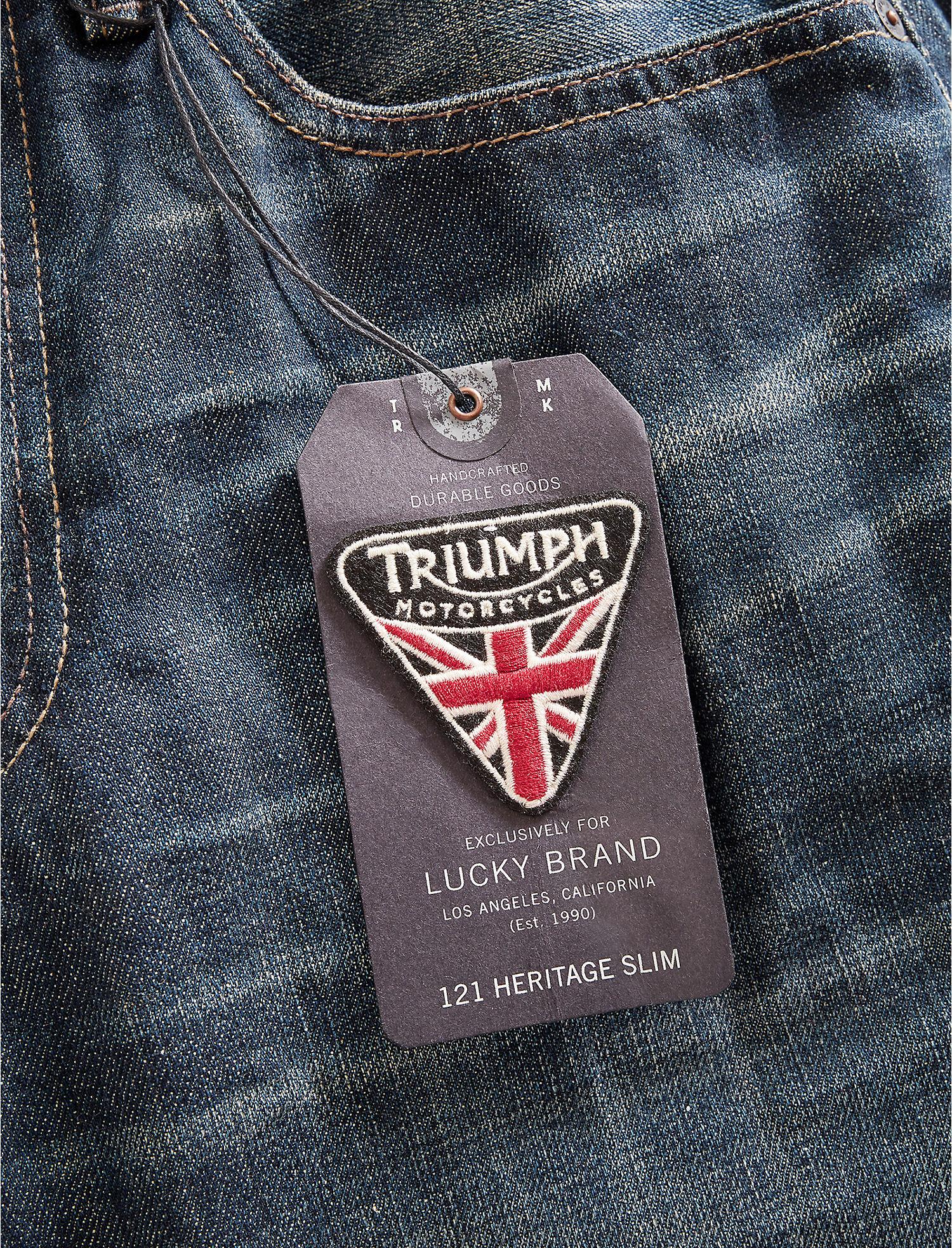 121 heritage slim triumph | lucky brand