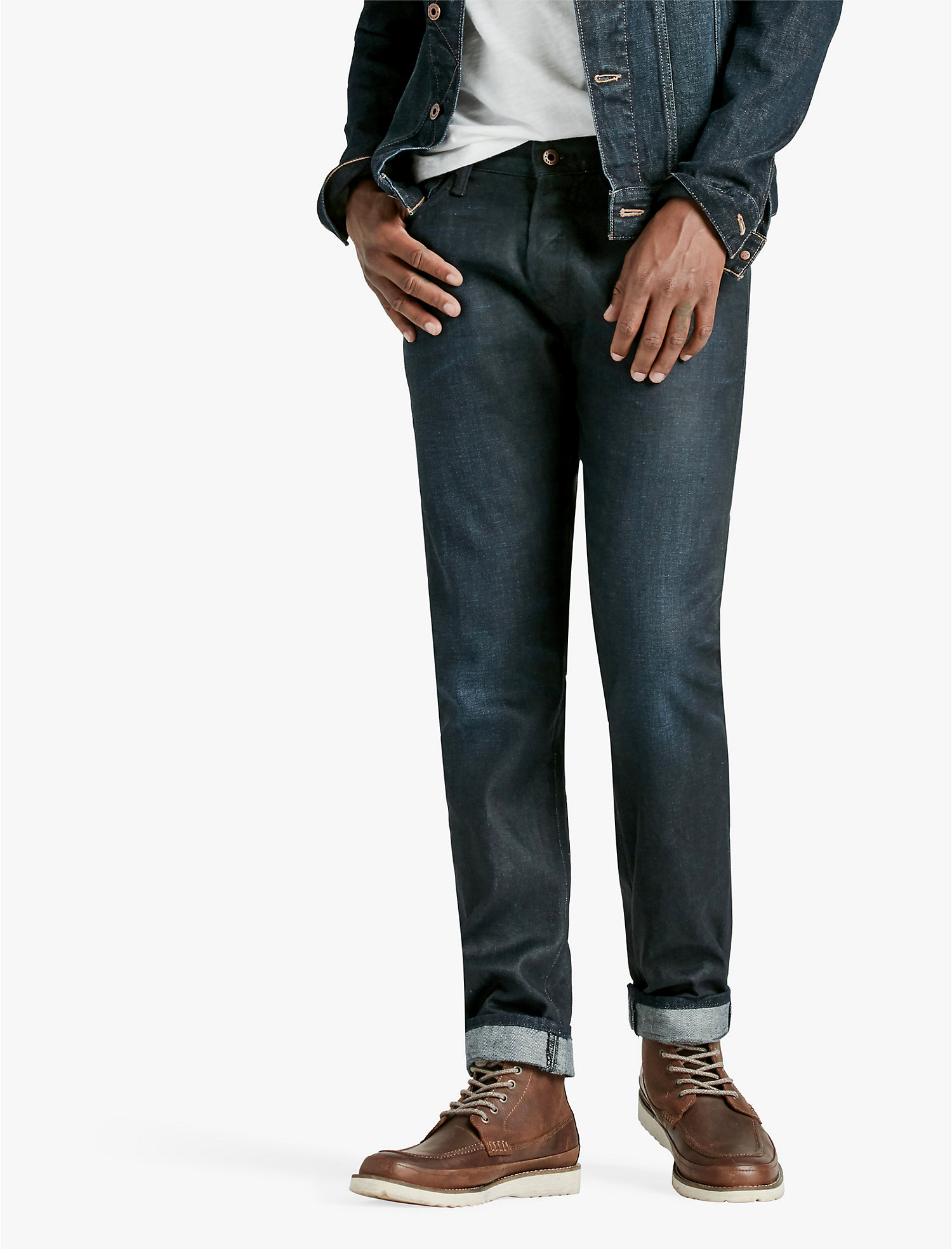 Mens jeans design legends jeans - Lucky 1 Authentic Skinny Jean