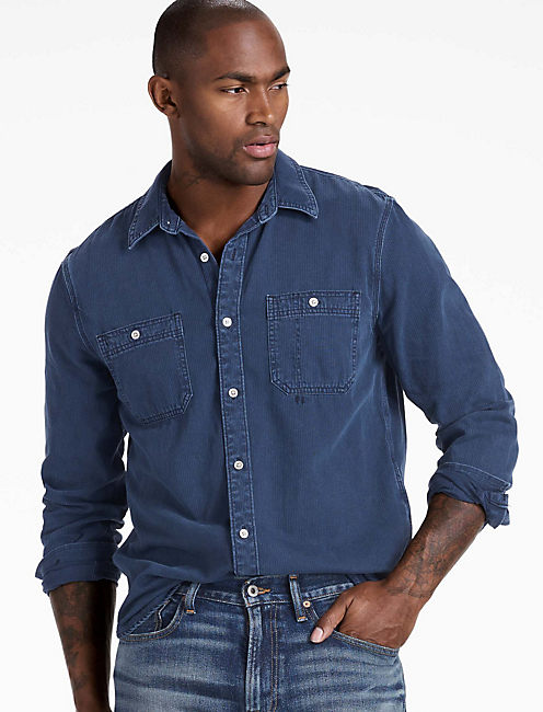 DENIM WORKSHIRT,