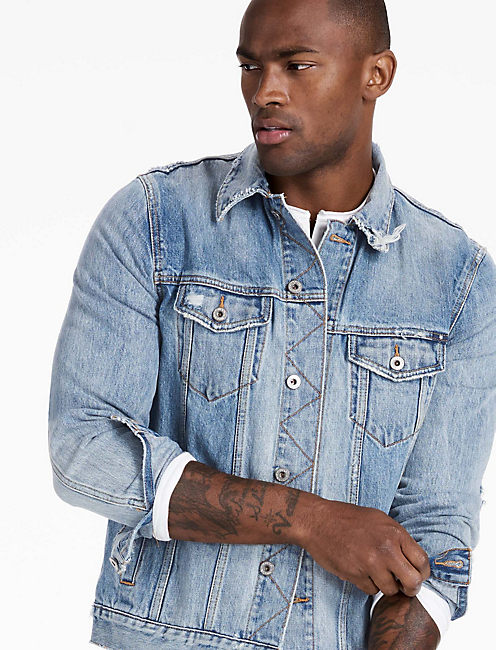 MCKINNEY DENIM JACKET, COPPER HARBOR