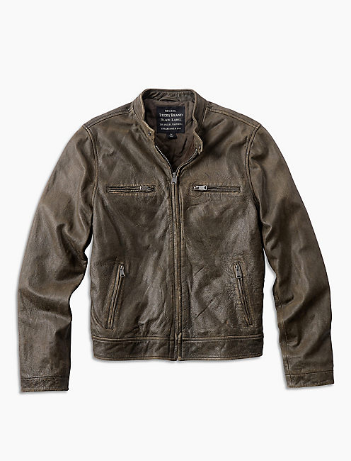 Ornamental Conifer You Pay Jacket, CONIFER LEATHER