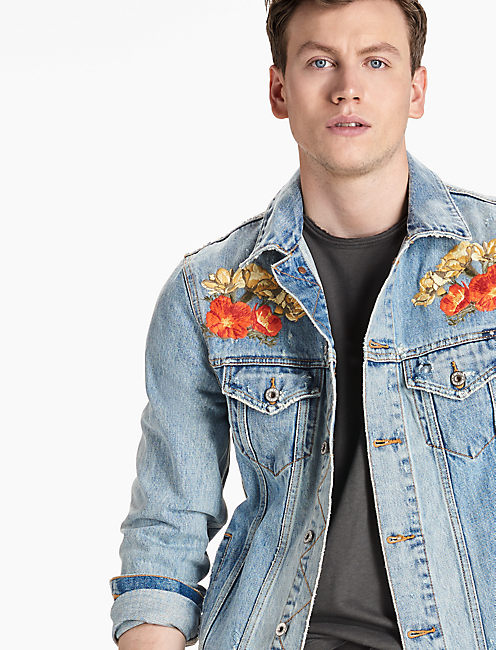 MCKINNEY DENIM JACKET, WAKE VILLAGE