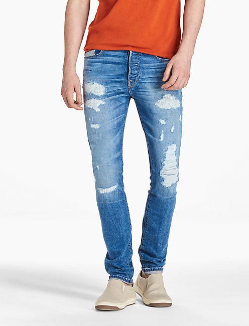 76 SLOUCH SKINNY,