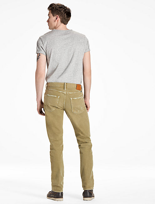 410 ATHLETIC FIT, OLIVE