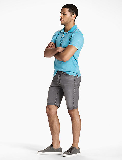 Mens Grey Denim Shorts | Lucky Brand