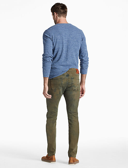 76 SLOUCH SKINNY JEAN, KENNARD OLIVE