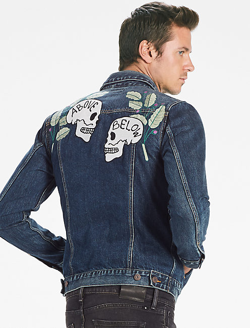 LOT, STOCK AND BARREL MCKINNEY DENIM JACKET,