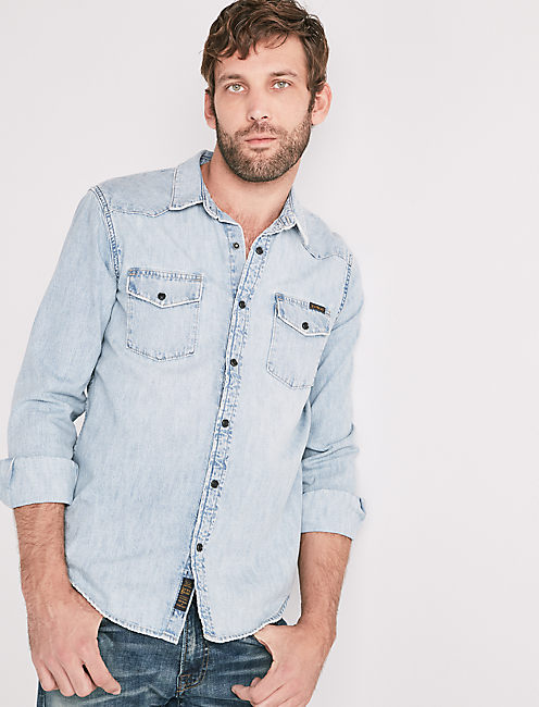 DENIM WESTERN SHIRT,