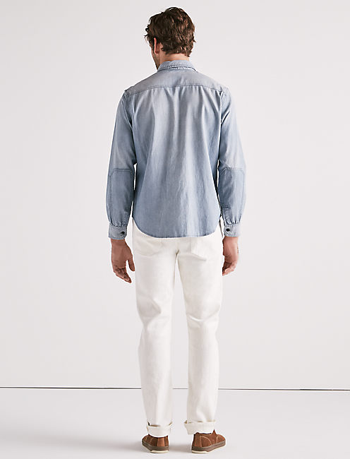 RELAXED MILITARY SHIRT,