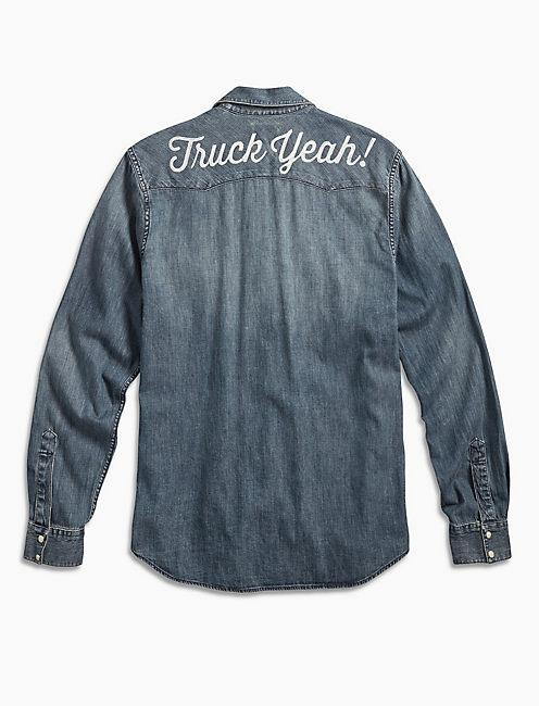 Lucky Soul2soul Truck Yeah Western Shirt
