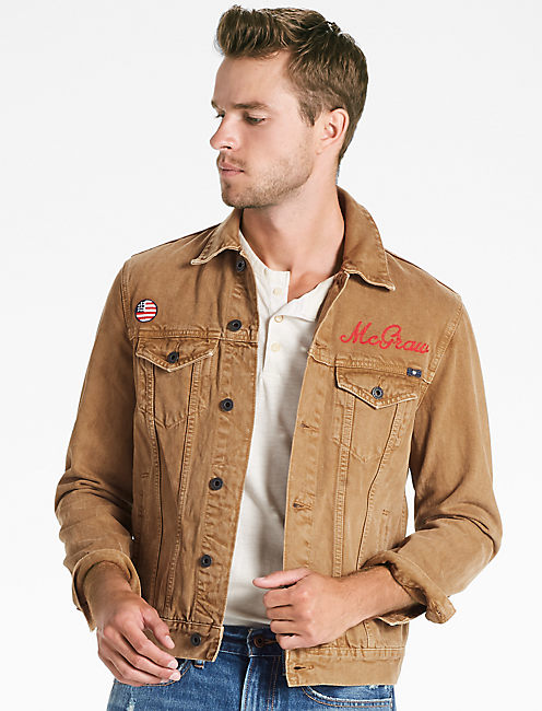 SOUL2SOUL TURBO TONKIN DENIM JACKET, EL CAPITAN