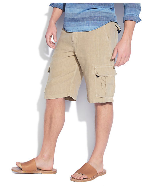 NORTH SHORE LINEN CARGO, KHAKI SAND
