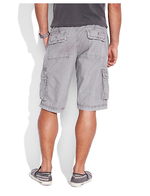 PAPERWEIGHT CARGO SHORT, GREY GRAY
