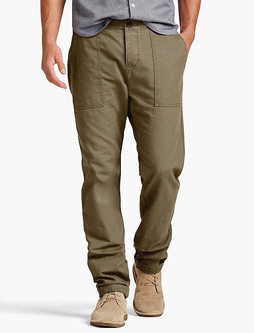 PORKCHOP MILITARY PANT, FIELD GREEN