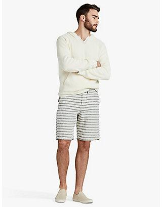 LUCKY Nautical Stripe Linen Short