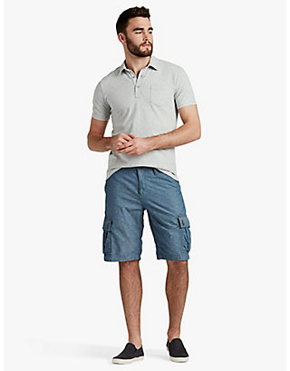 LUCKY CHAMBRAY CARGO SHORT