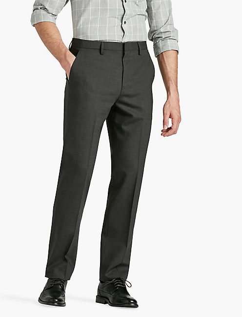 ACE ESSENTIAL SUIT PANT, HEATHER CHARCOAL