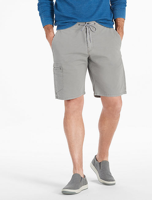 Rip Stop Utility Short, FROST GRAY