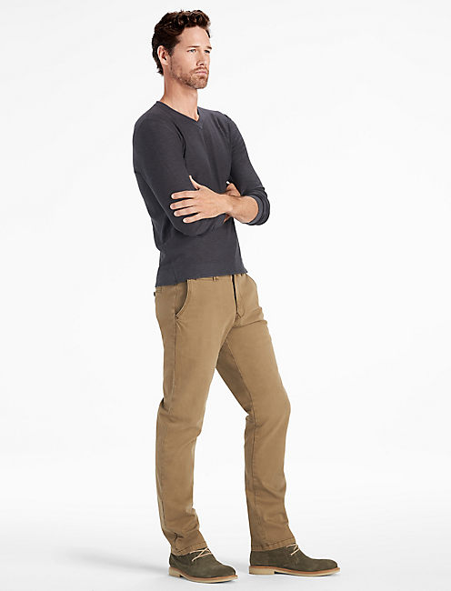 Lucky Stretch Cotton Links Chino