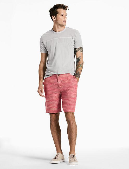 Lucky Hightide Stripe Linen Short