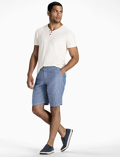 Lucky Chambray Linen Short