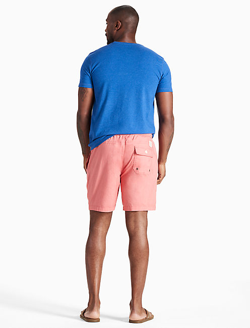 SWIM SHORT, MINERAL RED