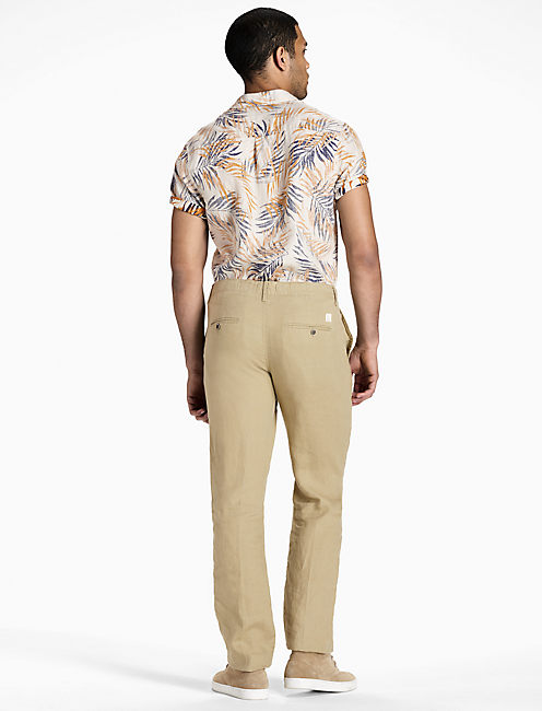 Hightide Twill Linen Pant, TWILL #16-1108 TCX