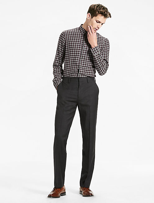 JACK GLENPLAID SUIT PANT, CHARCOAL CHECK