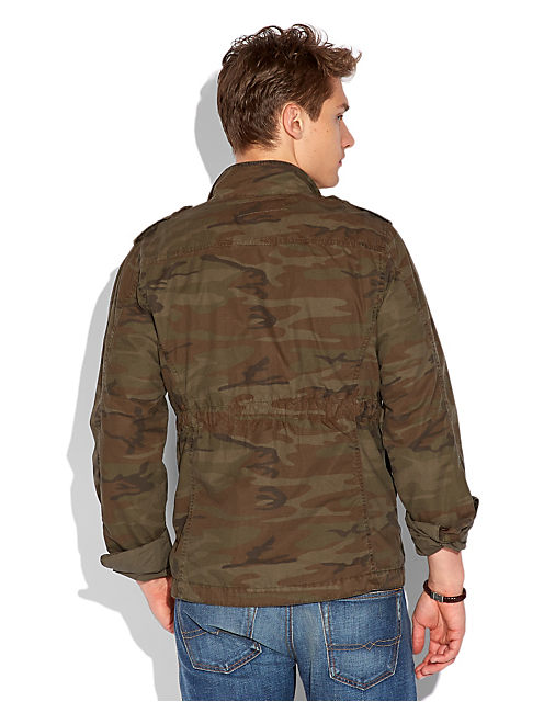 CAMO FIELD JACKET, OLIVE NIGHT