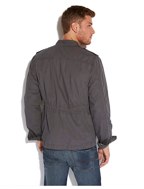 FIELD JACKET, MAGNET (19-3901 TCX)