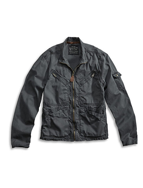 AVIATOR JACKET, TRUE BLACK