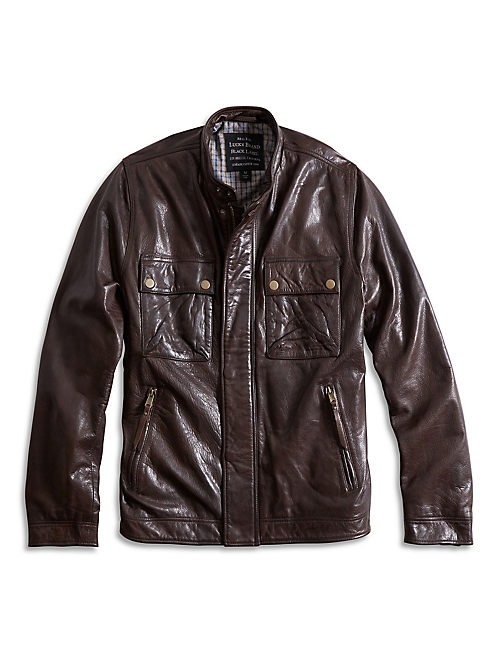 THE ACE LEATHER JACKET,
