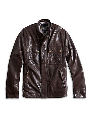 LUCKY THE ACE LEATHER JACKET