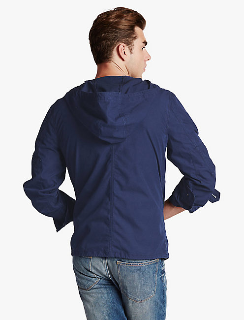 HOODED TECH JKT,