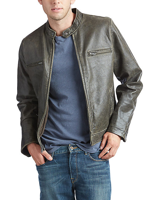 BONNEVILLE LEATHER JACKET,